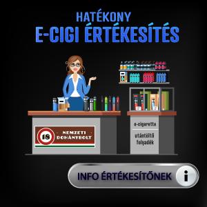 E-cigaretta, e-liquid dohánybolt ellátó