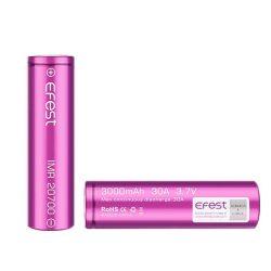 Akkumulátor - MOD-hoz 18650, Efest 3000mAh, 35A